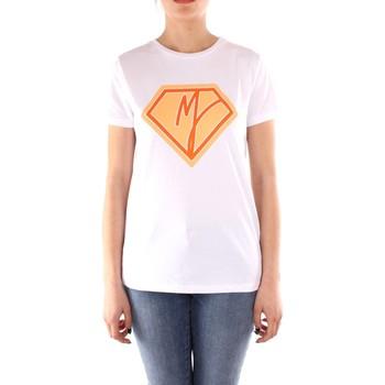 Oblečenie Ženy Tričká s krátkym rukávom Manila Grace T004CU WHITE