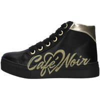 Topánky Dievčatá Členkové tenisky Café Noir C-841 BLACK