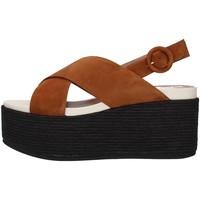 Topánky Ženy Sandále Tres Jolie 2801/MONY BROWN