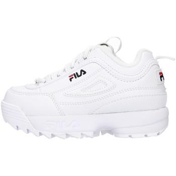 Topánky Dievčatá Nízke tenisky Fila 1010826 WHITE