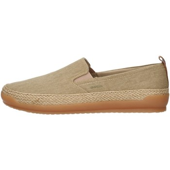Topánky Muži Slip-on Geox U029EC00010 BEIGE