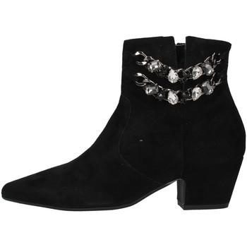 Topánky Ženy Čižmičky Paola Ferri D7085 BLACK