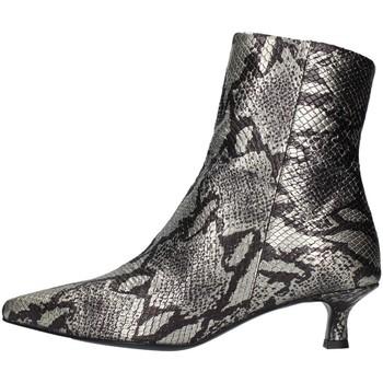 Topánky Ženy Čižmičky Paola Ferri D7091 SILVER