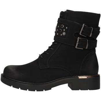 Topánky Ženy Polokozačky Gold&gold GR63 BLACK