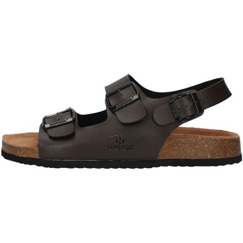 Topánky Muži Sandále Superga S11G046 BROWN