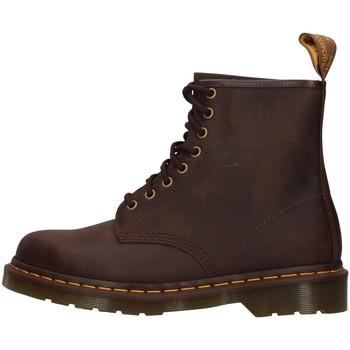 Topánky Polokozačky Dr Martens 1460 BROWN