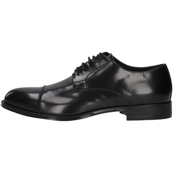 Topánky Muži Derbie Franco Fedele 6065 BLACK