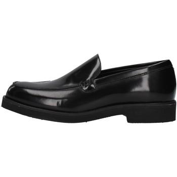 Topánky Muži Mokasíny Gino Tagli 650MIC BLACK