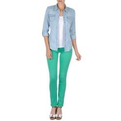 Oblečenie Ženy Nohavice päťvreckové Cimarron CASSIS Zelená