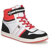 Topánky Ženy Členkové tenisky Dorotennis STREET LACETS červená / Biela / čierna