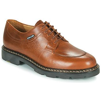 Topánky Muži Derbie Pellet Montario Hnedá