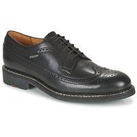 Topánky Muži Derbie Pellet NORMAN Čierna