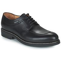 Topánky Muži Derbie Pellet Magellan Čierna