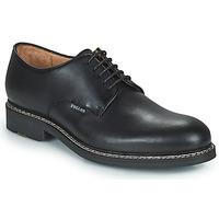 Topánky Muži Derbie Pellet Nautilus Čierna