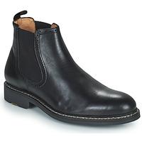 Topánky Muži Polokozačky Pellet RAYMOND Čierna
