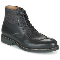 Topánky Muži Polokozačky Pellet ROLAND Čierna