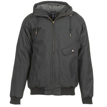 Oblečenie Muži Bundy  Volcom COASTER Čierna