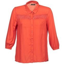 Oblečenie Ženy Košele s dlhým rukávom Volcom KNOTTY Červená