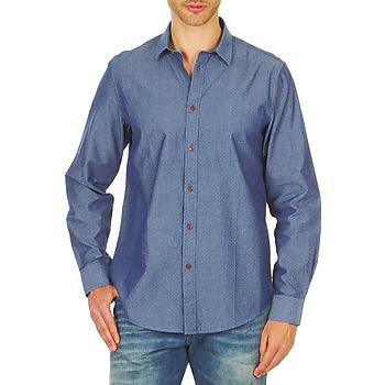 Oblečenie Muži Košele s dlhým rukávom Ben Sherman BEMA00490 Modrá