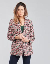 Oblečenie Ženy Saká a blejzre Betty London OBIMBA Čierna / Ružová