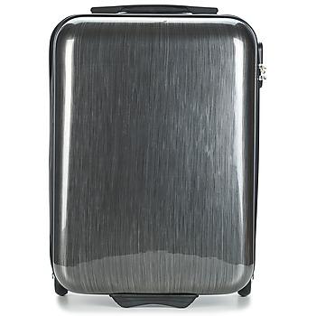 Tašky Pevné cestovné kufre David Jones RODEMAP 32L šedá