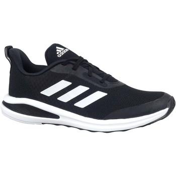 Topánky Deti Bežecká a trailová obuv adidas Originals Fortarun Čierna