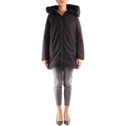 Oblečenie Ženy Parky People Of Shibuya SALLY/1PM5280-999 BLACK