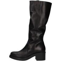 Topánky Ženy Cizmy Nad Kolenà Unica 10187 BLACK