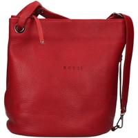 Tašky Ženy Tašky cez rameno Bruno Rossi R186 RED