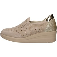 Topánky Ženy Slip-on Melluso R20156 BEIGE