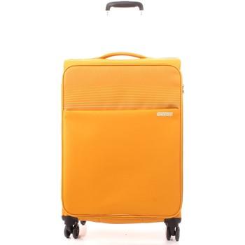 Tašky Pružné cestovné kufre American Tourister 94G006004 GOLD