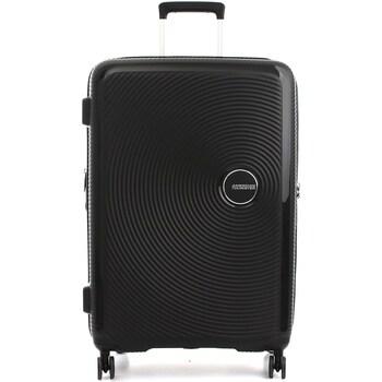 Tašky Pevné cestovné kufre American Tourister 32G009003 BLACK