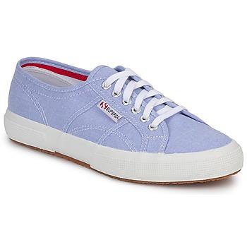 Topánky Nízke tenisky Superga 2750 COTUSHIRT Modrá / Clear