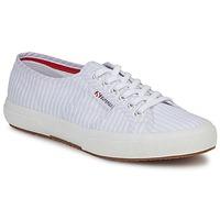 Topánky Nízke tenisky Superga 2750 COTUSHIRT Biela / Modrá