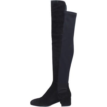 Topánky Ženy Cizmy Nad Kolenà Elvio Zanon Čižmy BJ808 Čierna
