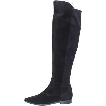 Topánky Ženy Cizmy Nad Kolenà Carmens Padova Čižmy BJ811 Čierna