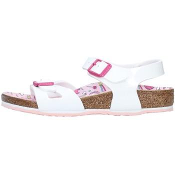 Topánky Dievčatá Sandále Birkenstock 1018864 WHITE