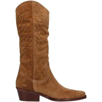 Topánky Ženy Čižmy do mesta Dakota Boots DKT67 BROWN