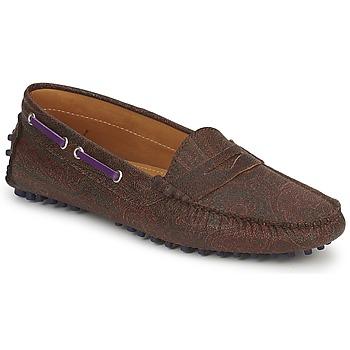Topánky Ženy Mokasíny Etro MOCASSIN 3706 Fialová