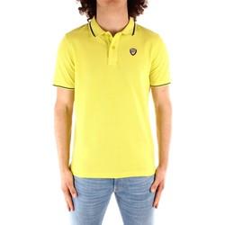 Oblečenie Muži Polokošele s krátkym rukávom Blauer 21SBLUT02272 YELLOW