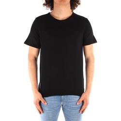 Oblečenie Muži Tričká s krátkym rukávom Blauer 21SBLUM01319 BLACK