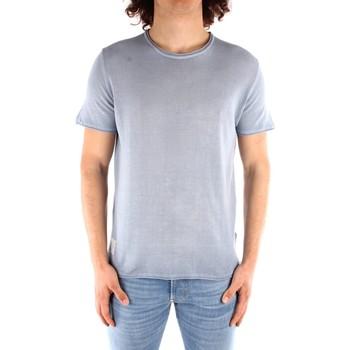 Oblečenie Muži Tričká s krátkym rukávom Blauer 21SBLUM01319 HEAVENLY