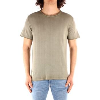 Oblečenie Muži Tričká s krátkym rukávom Blauer 21SBLUM01319 GREEN