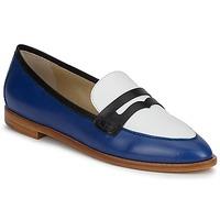 Topánky Ženy Mokasíny Etro MOCASSIN 3767 Modrá / Čierna / Biela