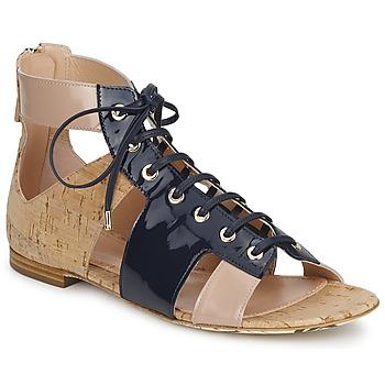 Topánky Ženy Sandále John Galliano AN6379 Modrá / Béžová / Ružová