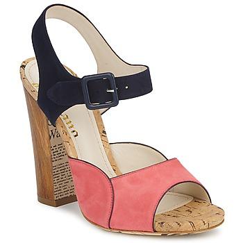 Topánky Ženy Sandále John Galliano AN3571 Ružová / Námornícka modrá