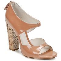 Topánky Ženy Sandále John Galliano AN6364 Ružová / Béžová