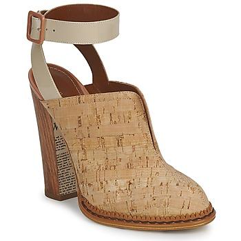Topánky Ženy Nazuvky John Galliano AN9211 Béžová