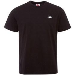 Oblečenie Muži Tričká s krátkym rukávom Kappa Iljamor Čierna