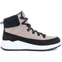 Topánky Ženy Členkové tenisky 4F OBDH252 Čierna, Ružová